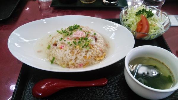 蟹あんかけ炒飯(玉村ゴルフ場)