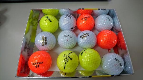 ゴルフボールの選びかた
