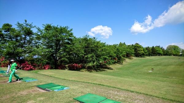 今日の朝練(赤城ゴルフ倶楽部)